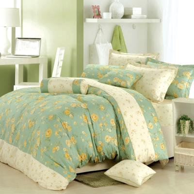 MONTAGUT-法國莊園-精梳棉-加大四件式薄被套床包組