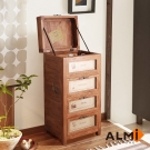 ALMI-3 DRAWERS & TRAP BOX 掀蓋三抽櫃W55*D45*H112CM
