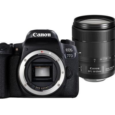 Canon EOS 77D+18-135mm IS USM 單鏡組*(平輸中文)