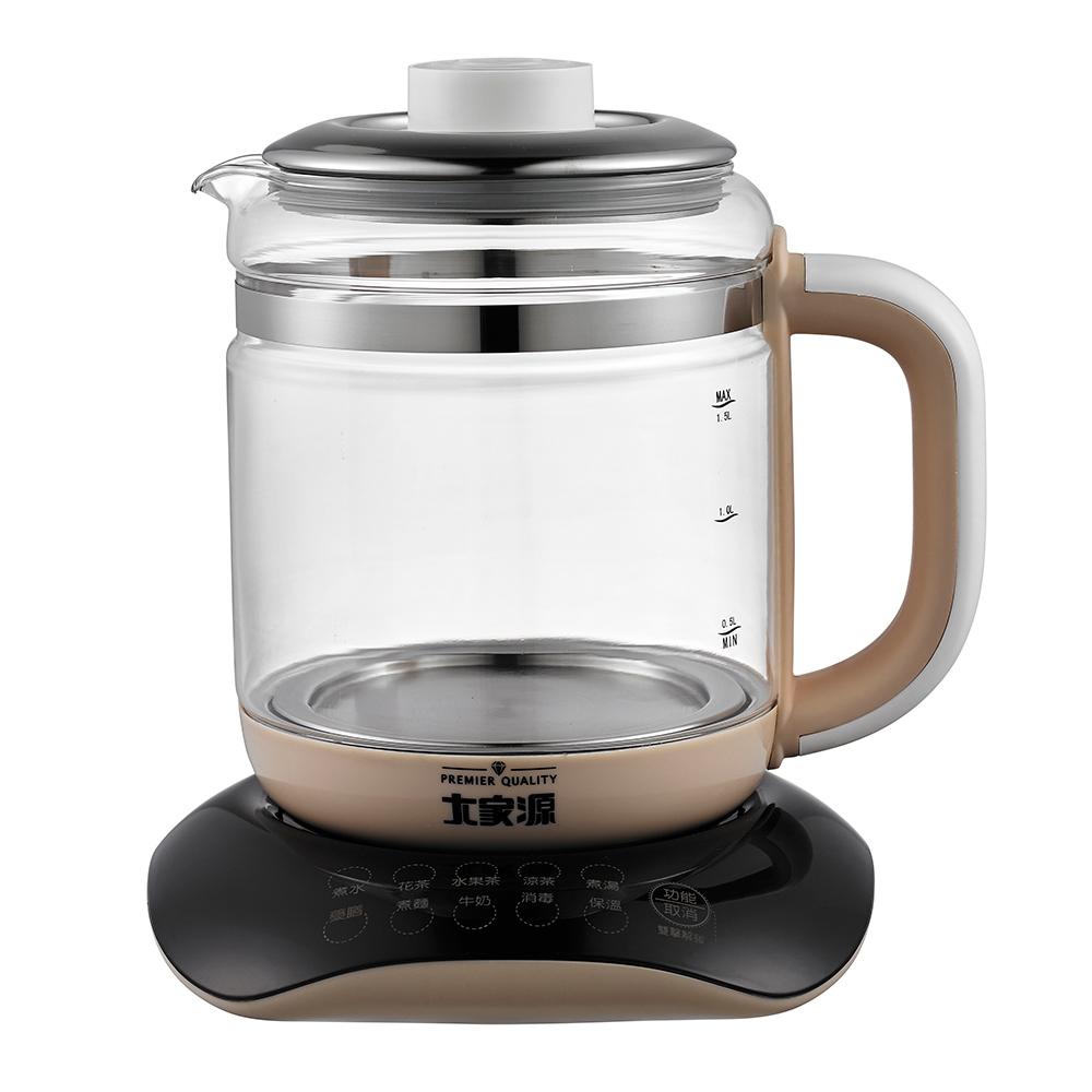 大家源1.5L玻璃養生美食鍋(TCY-2745)