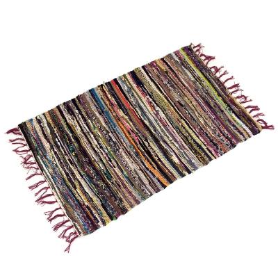 布安於室-波希米亞風踏墊2入(82x51cm)-混色出貨