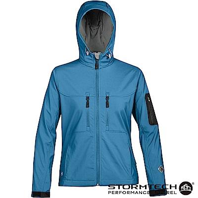 【加拿大STORMTECH】HS-1W獨家輕薄防水透氣刷毛保暖外套-女-藍