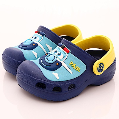 SUPER WINGS 超輕量涼鞋款 EI3904黃(中小童段)