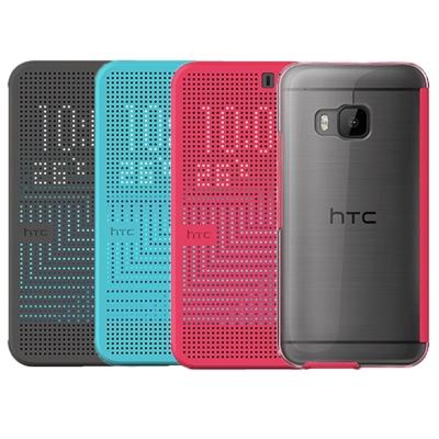 HTC M9 M232 原廠炫彩透背保護套One M9專用