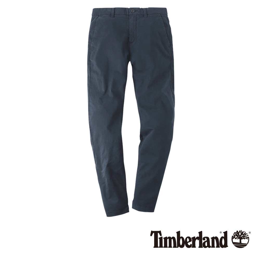 Timberland 男款暗藍色SARGENT LAKE彈性斜紋休閒褲