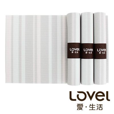 LOVEL 英倫手作風編織感餐墊-夜光瑩粉(4入組)