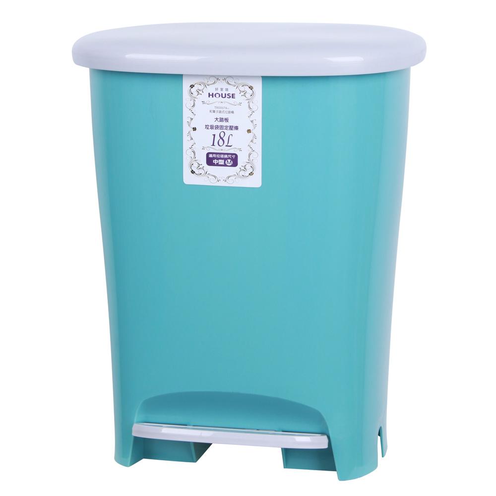 和菓子18L踏式垃圾桶-大