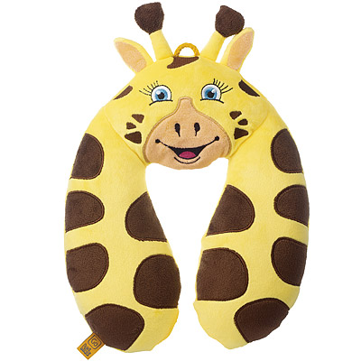GO TRAVEL 可洗U型兒童護頸枕(長頸鹿)