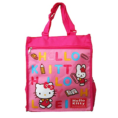 Hello Kitty 可調式補習才藝袋
