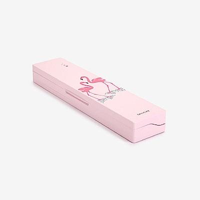 Dailylike 攜帶式紫外線UV牙刷殺菌盒-03 火烈鳥