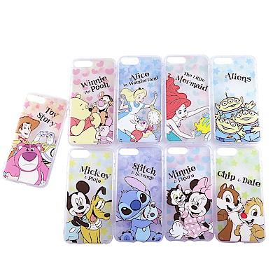 Disney迪士尼iPhone 7/8 Plus防摔氣墊空壓保護套_星心