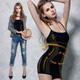 塑身衣 大尺碼雙弧推塑細肩塑身衣M-XXL黑Naya Nina product thumbnail 1