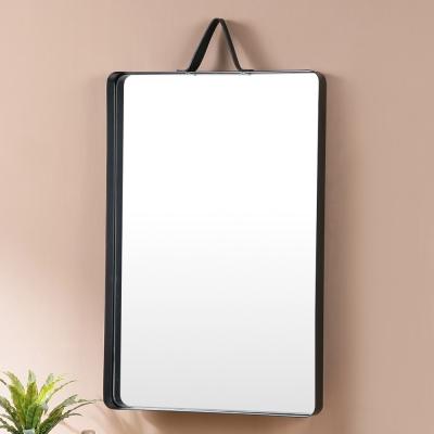 Homelike 芭蒂時尚壁鏡(兩色任選)-60x40x4cm
