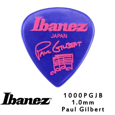 IBANEZ 1000PGJB 1.0mm 吉他彈片 藍色款 10片包裝