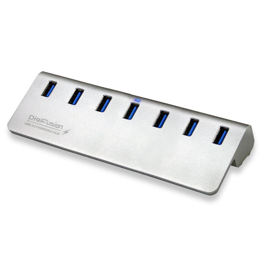伽利略 USB3.0 7埠 充電 HUB 鋁合金
