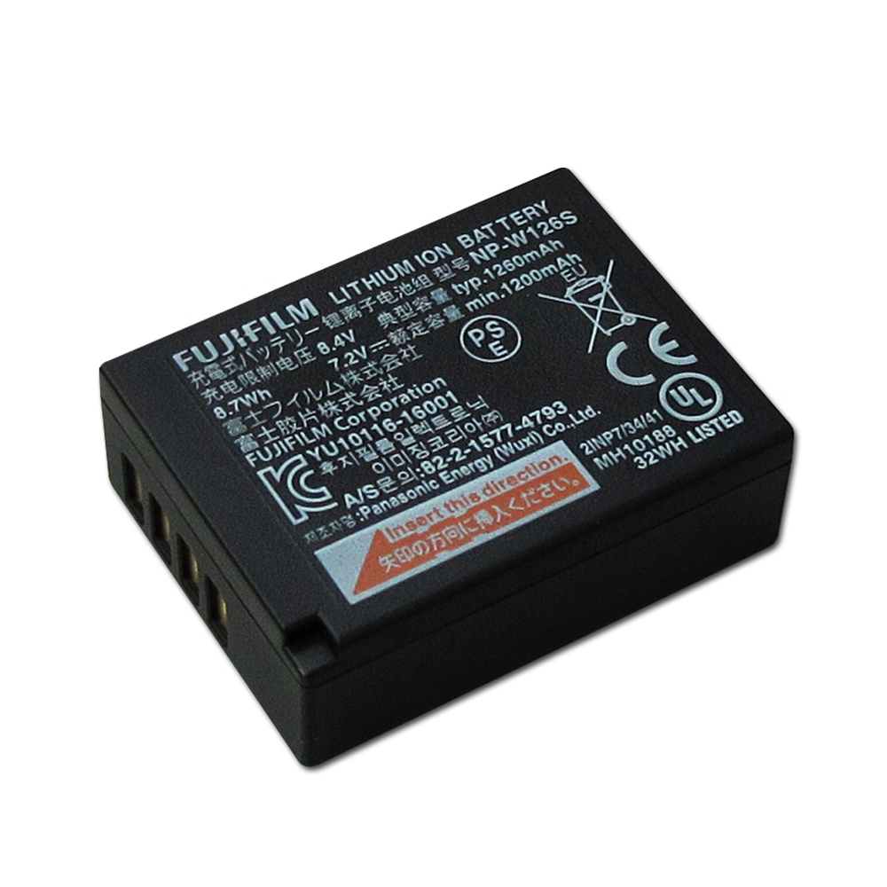 Fujifilm NP-W126S / W126S 專用相機電池(平輸-密封包裝) @ Y!購物