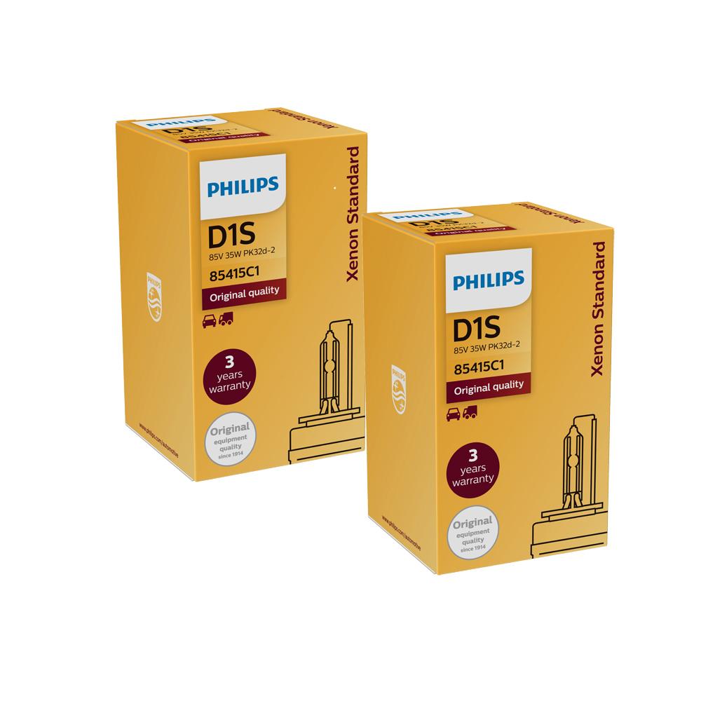 PHILIPS飛利浦 4200K HID 氙氣車燈D1S(兩入)公司貨