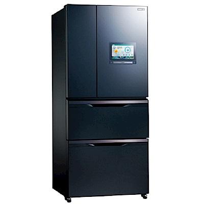 【福利品】SAMPO 聲寶560公升智慧節能絕PAD冰箱SR-NW56PI(IOT)尊爵藍