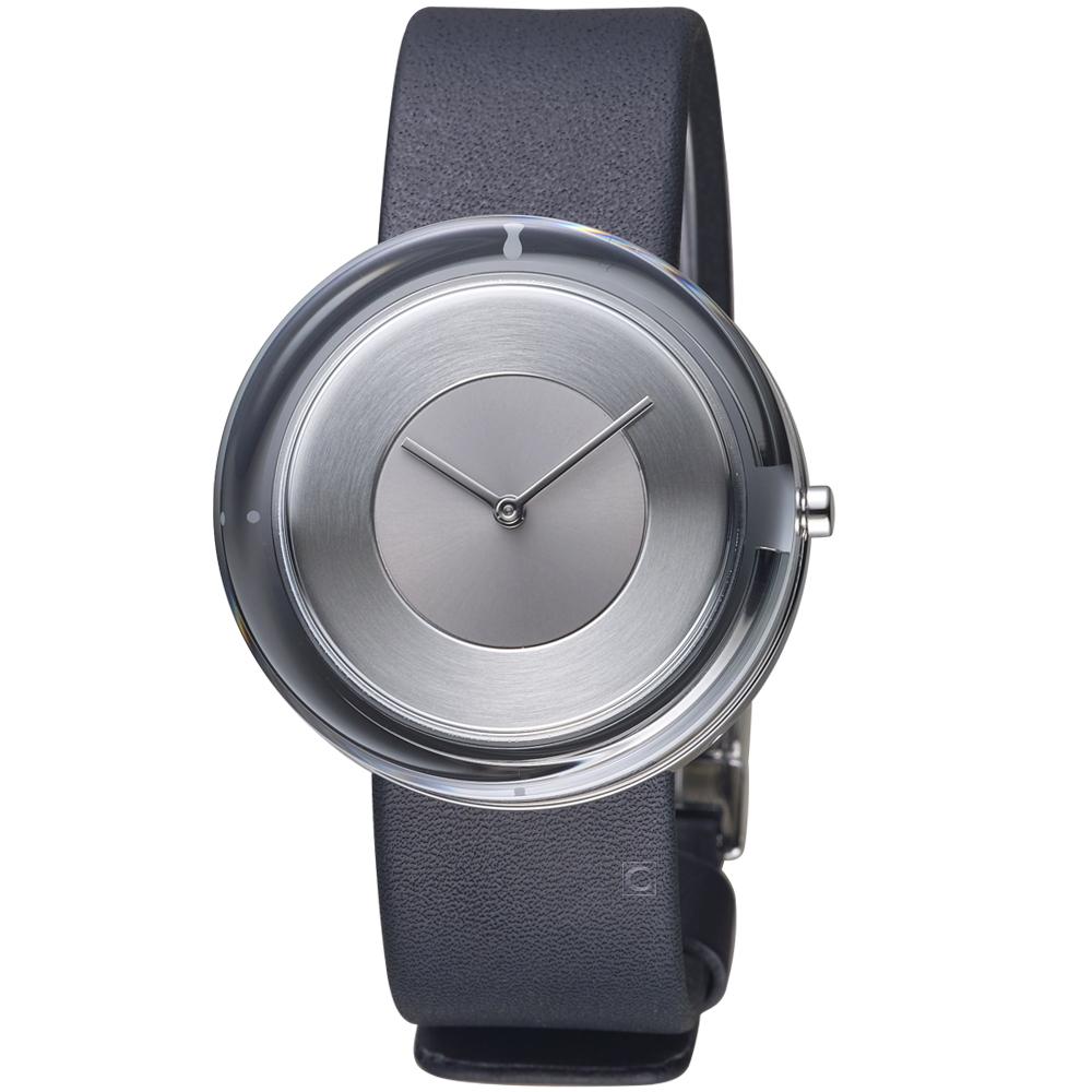 ISSEY MIYAKE三宅一生Glass Watch系列腕錶(VJ20-0120Z)