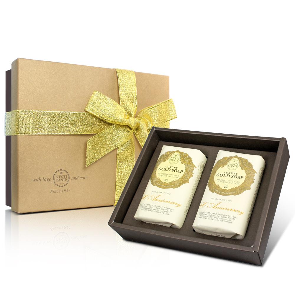 Nesti Dante  義大利手工皂-經典黃金皂禮盒(250g×2入)