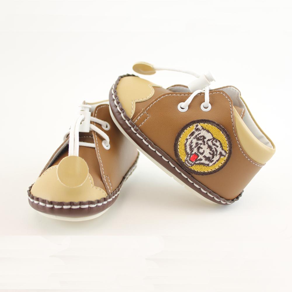 愛的世界 虎頭寶寶鞋(高筒)/學步鞋-台灣製-