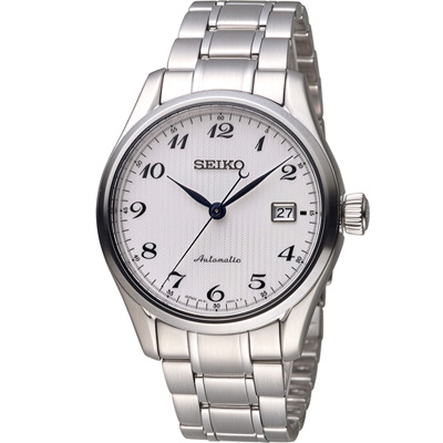 SEIKO 精工 PRESAGE 6R15機械錶(SPB035J1)白/40mm