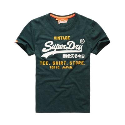 SUPERDRY 極度乾燥 短袖 文字T恤 綠色