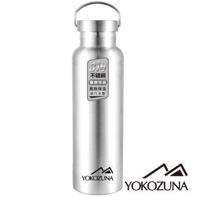 YOKOZUNA 316不鏽鋼極限保冰/保溫杯1000ML