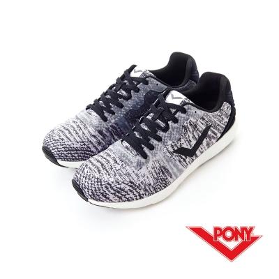 【PONY】FLUFFY系列-輕盈透氣慢跑鞋-女性-木炭灰