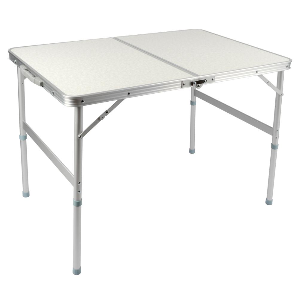 LIFECODE 009長90cm鋁合金折疊桌提箱型