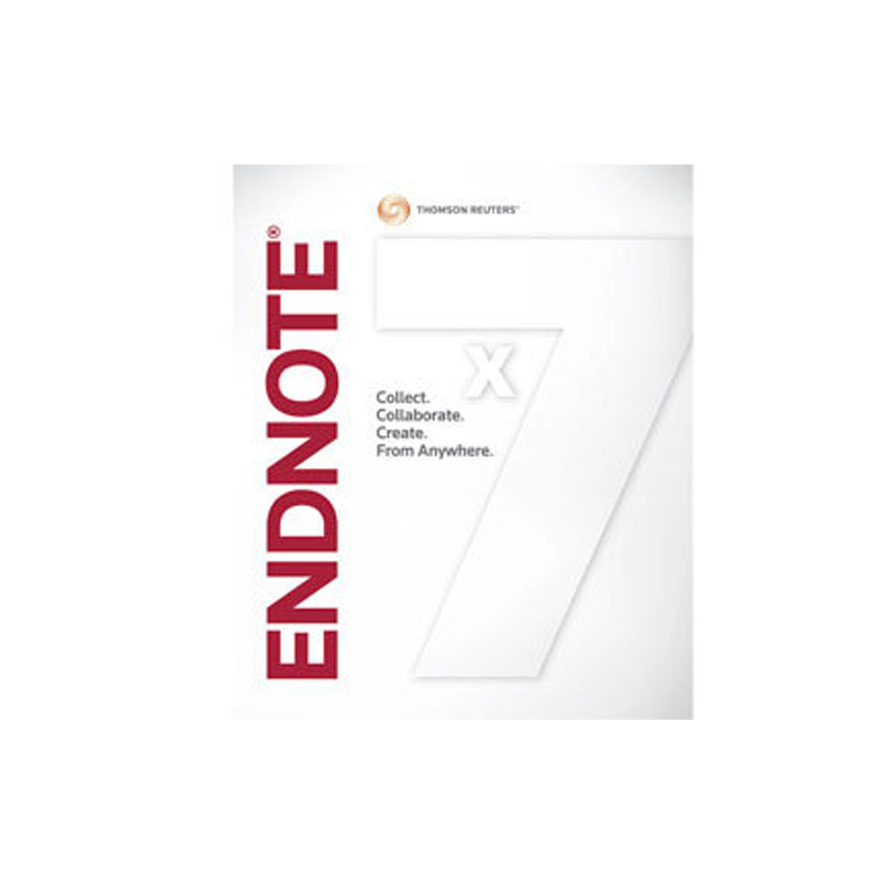 EndNote X7 Win 單機版  (盒裝)