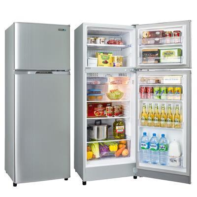 福利品 SAMPO聲寶250L 4級定頻2門電冰箱 SR-L25G(S2) 璀璨銀