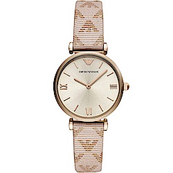 Emporio Armani Gianni T-Bar典雅時尚腕錶(AR11126)