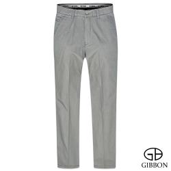 GIBBON 立體條紋輕量平口休閒褲‧灰色31~42