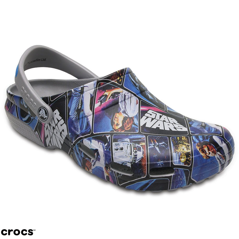 Crocs卡駱馳 (中性鞋) 經典星際大戰克駱格 204572-90H