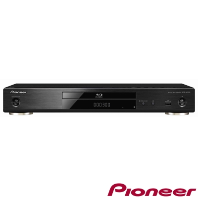 Pioneer先鋒 高音質3D藍光播放機  BDP-X300-B