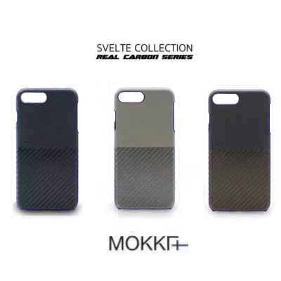 Mokka IPhone 7 plus 復古仿碳纖維系列手工拼接手機殼