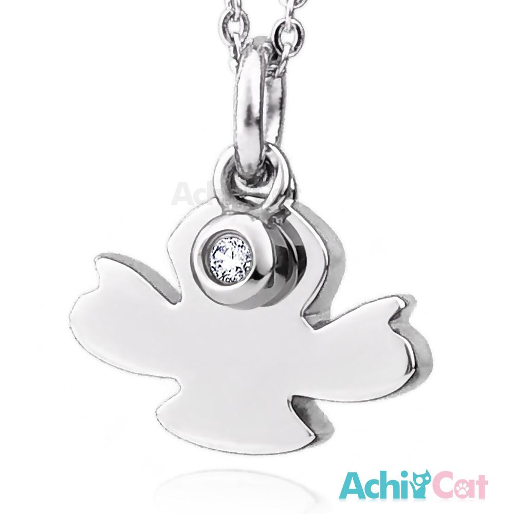 AchiCat 珠寶白鋼項鍊 淘氣精靈