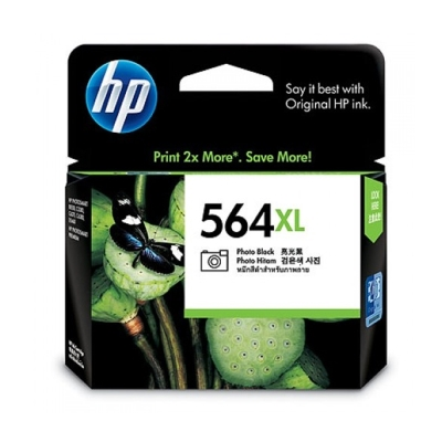 HP CB322WA NO.564XL 原廠相片黑墨水匣