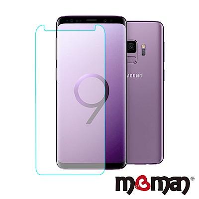 Mgman Samsumg S9 曲面亮面全透明玻璃保護貼(非滿版)