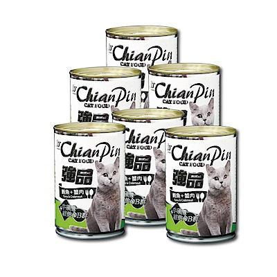 寵物物語-強品貓罐-鮪魚+蟹肉400G-24罐
