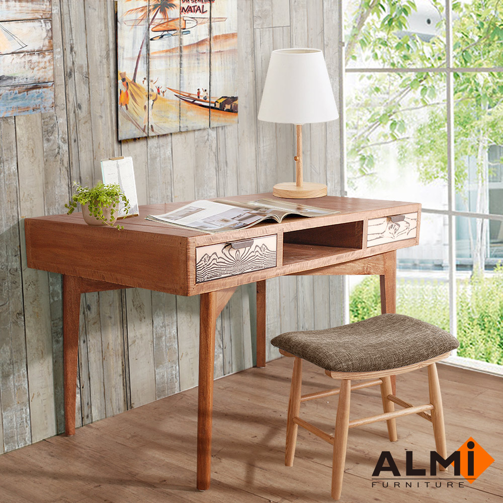 ALMI-DESK 2 DRAWERS 雙抽書桌W130*D70*H75CM