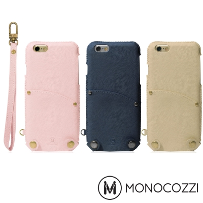 MONOCOZZI Posh iPhone 7/8 掛繩口袋皮套