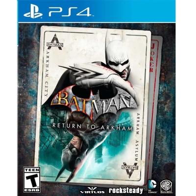 蝙蝠俠:重返阿卡漢 Batman: Return to Arkham-PS4英文美版