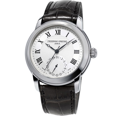 康斯登 CONSTANT Manufacture系列經典腕錶-黑色/42mm