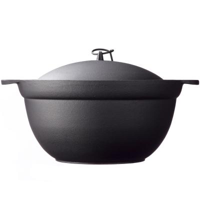 及源鑄造-鑄鐵炊飯調理鍋-22cm-5-6人份