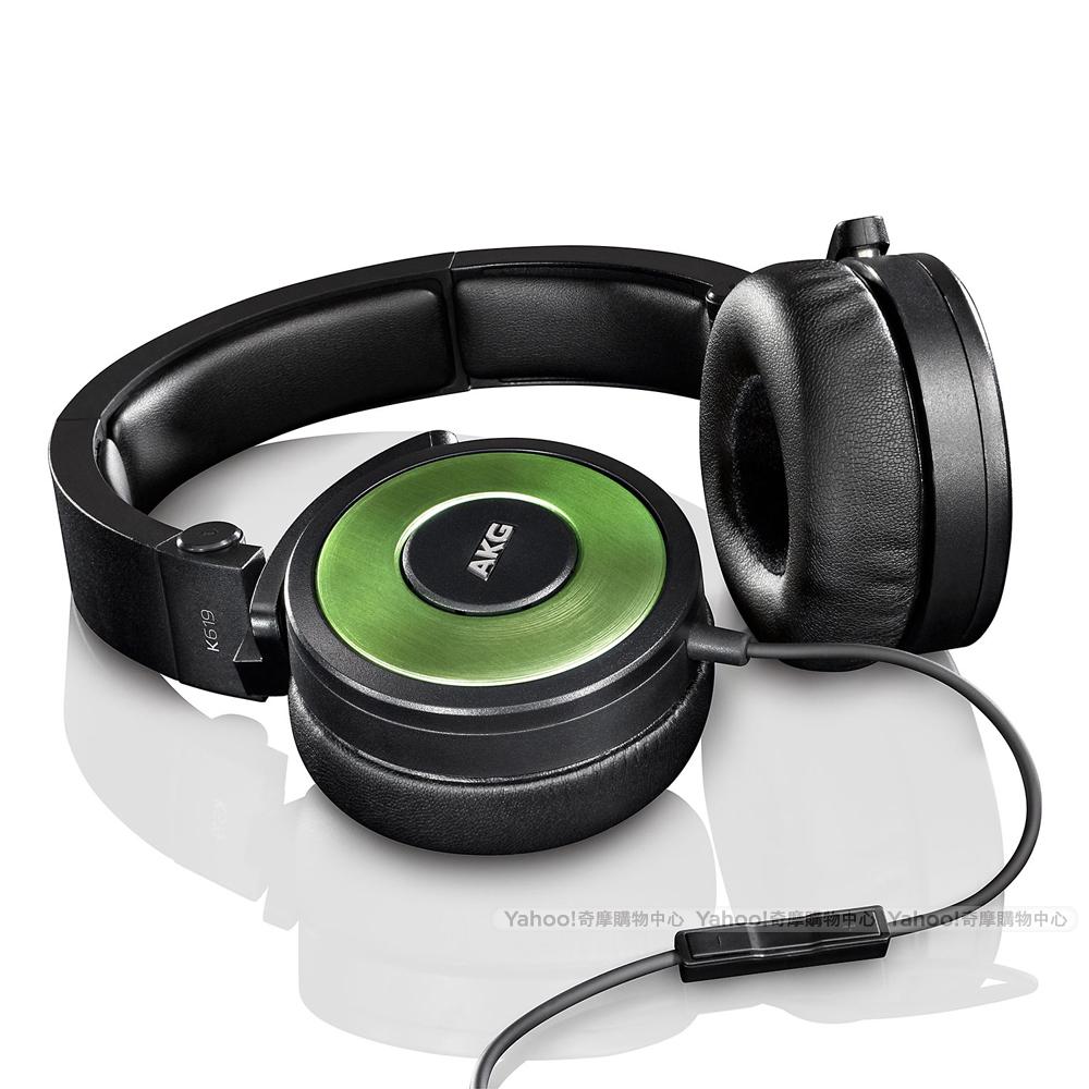 AKG K619 iPhone專用頭戴式耳機-綠
