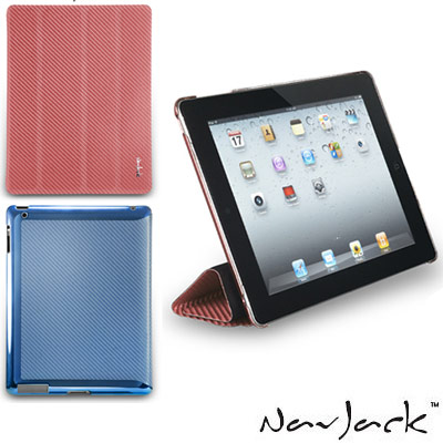 NavJack Corium 系列 New iPad 玻纖多功能保護套