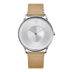 ZOOM SILO 極地光暈腕錶-銀/39mm