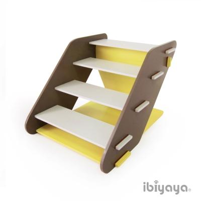 IBIYAYA依比呀呀 FF1313 四階寵物樓梯-黃